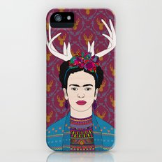 DEER FRIDA iPhone (5, 5s) Slim Case