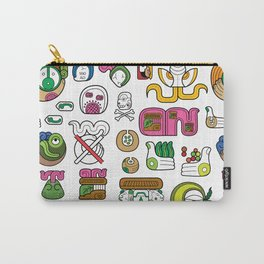 New Maya Language Carry-All Pouch