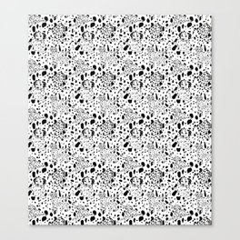 Dalmatian Daze Canvas Print