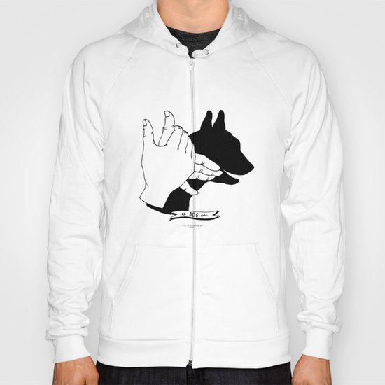 Hand-shadows Mr Dog Hoody