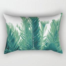 Tropical Leaves Dream #2 #tropical #decor #art #society6 Rectangular Pillow