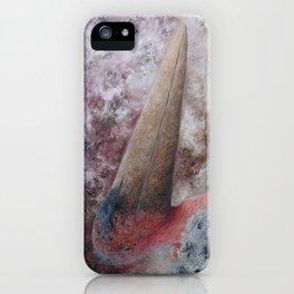 Marabou Stork (Leptoptilos crumenifer) iPhone Case