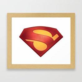 S hope Framed Art Print