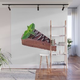 Fancy Chocolate Cake Wall Mural