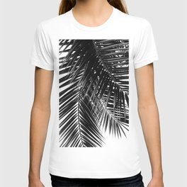 Tropical Vibes | Black and White T-shirt