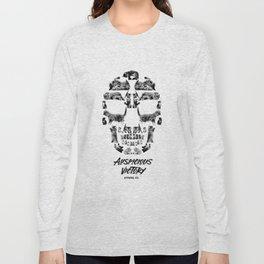 Kitten Skull Long Sleeve T-shirt