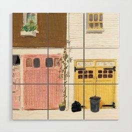EBURY MEWS Wood Wall Art