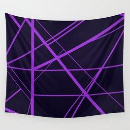 Crossroads - Purple Wall Tapestry