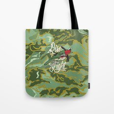 Rise and Fight Tote Bag