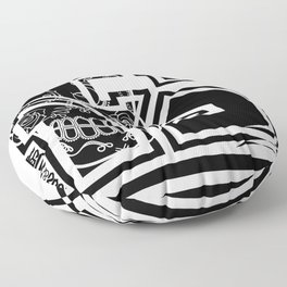 FS Clothing Logos Floor Pillow