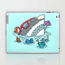 Beach Party Shark Laptop & iPad Skin