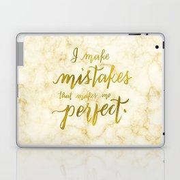 I Make Mistakes Laptop & iPad Skin
