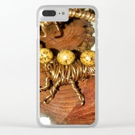 Wire Scorpion Clear iPhone Case
