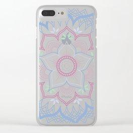 Decorative tribal Mandala Clear iPhone Case