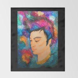 Galaxy Boy Throw Blanket
