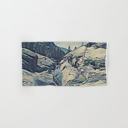 Kings Canyon, California Hand & Bath Towel