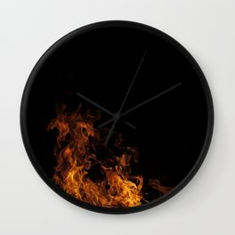 Fire Drake of the North Wall Clock