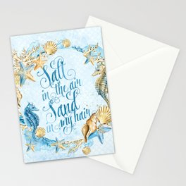 Sea & Ocean #5 Stationery Cards