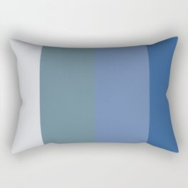 Parable to Behr Blueprint Color of the Year and Accent Colors Vertical Stripes 8 Rectangular Pillow