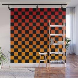 Chessboard Gradient V Wall Mural