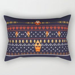 Happy Hyrule Holidays Rectangular Pillow