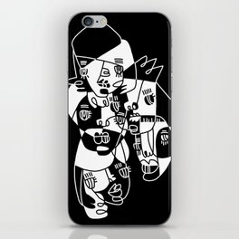 Abstract Faces JL20-20 iPhone Skin