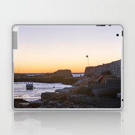 Winter sunset at Lanescove Laptop & iPad Skin