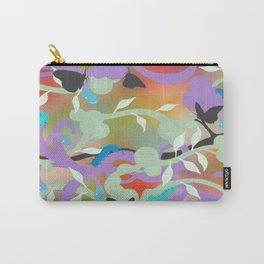 Black Butterflies Carry-All Pouch