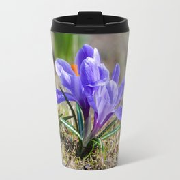 Springtime Crocus in Warsaw Travel Mug