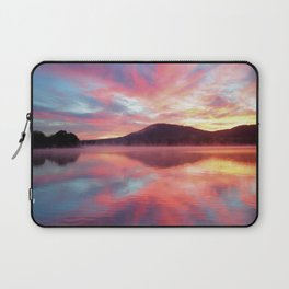 Sunrise: Fire Above and Fire Below Laptop Sleeve