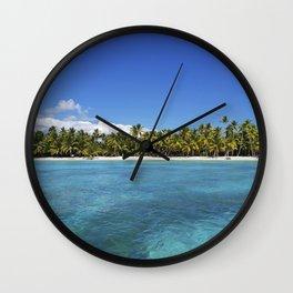 carribean dream Wall Clock