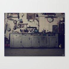 Everett's Bench Canvas Print