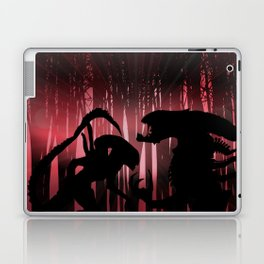 Forest Aliens Laptop & iPad Skin