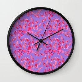 SANTA RITA - Watercolor Pattern Wall Clock