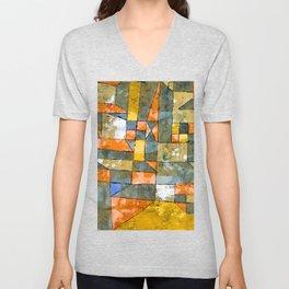 Paul Klee North German City Unisex V-Neck