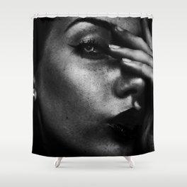 Dangerous Girl Shower Curtain