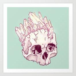 Skull No.2 // The Cristallized One Art Print