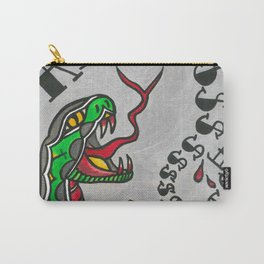 RESIST snake Carry-All Pouch