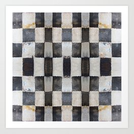 Checkers Art Print