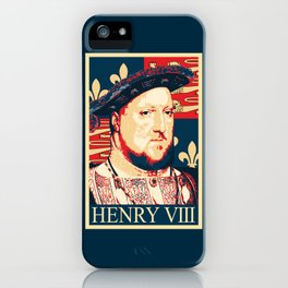 Henry VIII Propaganda Pop Art iPhone Case