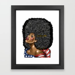 Our Lives Matter Framed Art Print