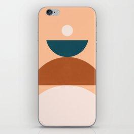 Abstraction_Balance_Shape_Pop_Art_Minimalism_044 iPhone Skin