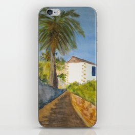 Betancuria´s Typical house iPhone Skin
