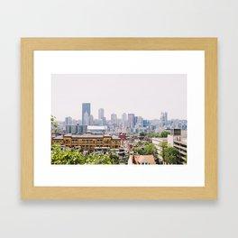 The Burgh Framed Art Print