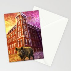 Razorback Painting Stationery Cards