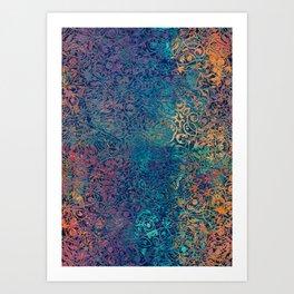 magic mandala 45 #magic #mandala #decor Art Print