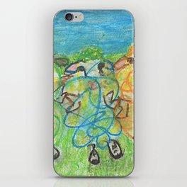 Three Ewes Chillin iPhone Skin