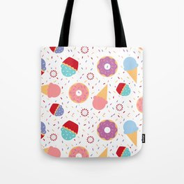 Donuts party Tote Bag