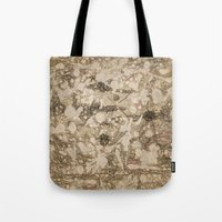 da vinci Tote Bags featuring da Vinci Angels by Bruce Stanfield