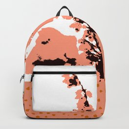 Dots and flowers Backpack